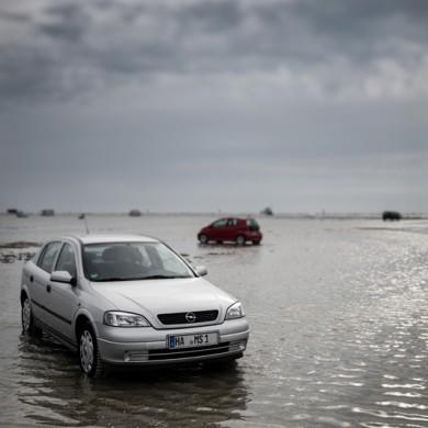 Nordsee 2013 - Sankt Peter-Ording - Zur falschen Zeit am falschen Ort