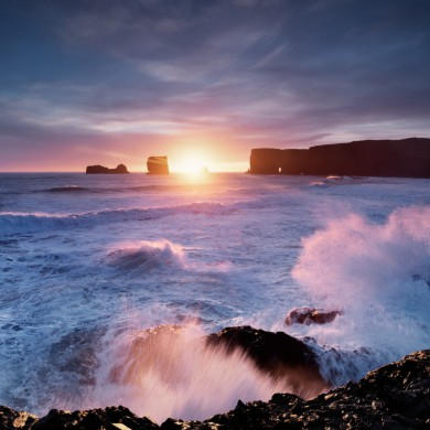 Iceland 2013 South Dyrholaey