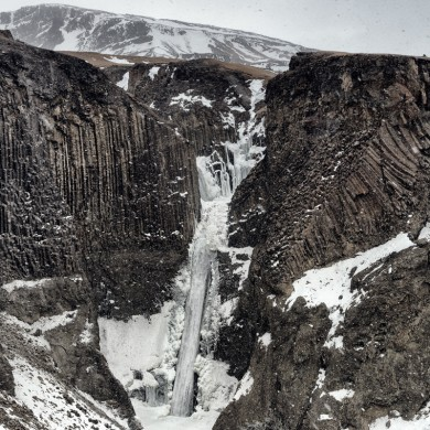 Iceland 2015 Litlanesfoss