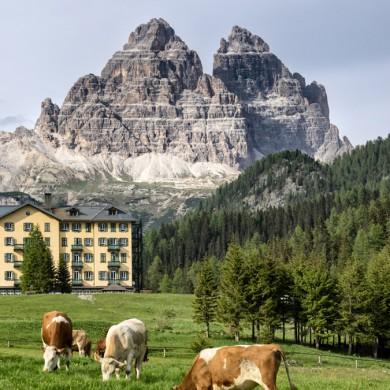 Alpen Sommer 2017 - Misurina mit Drei Zinnen