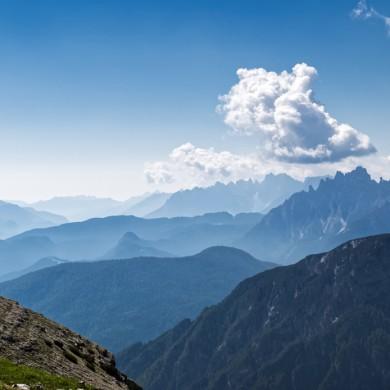 Alpen Sommer 2017 - Dolomitenblick