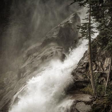 Alpen Sommer 2017 - Krimmler Wasserfälle