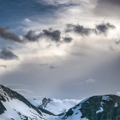 Alpen Sommer 2017 - Blick von der Edelweißspitze