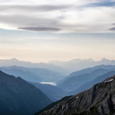Alpen Sommer 2017 - Blick von der Edelweißspitze zum Zeller See