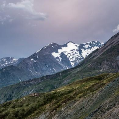 Alpen Sommer 2017 - Blick vom Wallackhaus
