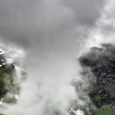 Alpen Sommer 2017 - Wolken an der Großglocknerhochalpenstraße