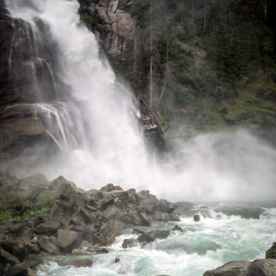 Alpen Sommer 2017 - Krimmler Wasserfall